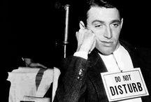 on the set /  Il mio primo film era così brutto che in sette Stati Americani aveva sostituito la pena di morte. (Woody Allen)