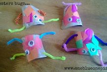 Kids craft ideas / by One blue one pink