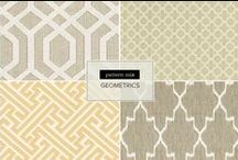patterns / While everyone knows we love our calming neutrals, we are also swooning over patterns of any kind. Whether it's suzani, chevron, herringbone - we've compiled a board to inspire you with all things pattern.