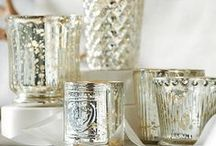 mercury glass / Mercury glass is amazing: it can look rustic & glamorous all at once. Here are some of our favorite pieces. / by Ballard Designs