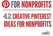Pinterest tips for Nonprofits / Pinterest tactics, tips and strategies for nonprofits