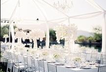 Wedding Theme: Lakeshore Elegance / All white elegance on the shores of Lake Michigan.