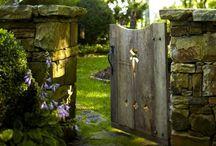 Openings / Doorways, gateways, windows, and keyholes