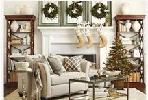 holidays / From warm and wonderful pillows to vintage French Industrial accent pieces, Ballard Designs has your holiday décor needs covered this season. Check out this board for our brand new holiday decorations! / by Ballard Designs