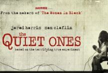 The Quiet Ones / Inspired by true events. University students conduct an experiment on Jane Harper, a girl who harbors unspeakable secrets. In theaters April 25th