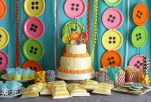 Birthday Party: Cute as a Button