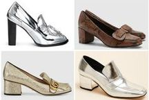 Block Heel Loafers / Loafers featuring a block heel are the shoe to be autumn 2015! Check out our top ten picks at TheSnobette.com