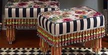Kaleidoscope Collection - Furniture / A Broadway melody of magic, wit, and candy-striped enchantment; furniture so deliriously offbeat, it is welcome anywhere.