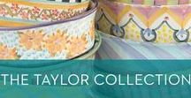 Taylor: Ceramics / Mix and match the unique patterns of our handmade Taylor Ceramics collection. Each pattern is inspired and named after local locations.