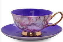Tea Time / Tea is a delicate thing, and the tea cup that holds the tea should be the same, lovely and delicate.