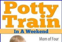 Potty Training / Great potty training tips, potty training methods, potty training tools . . . and potty training encouragement.  Let's face it, mom has to be more ready to potty train that the toddler.  For more encouragement and tips for moms, please check us out at:  http://www.everythingsahm.net/
