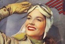 Aviatrix / Female pilots, nurses, medics, you name it. Women do it better. ;)