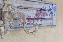 Le mie creazioni / Porte,persiane decorate,Shabby, decoupage