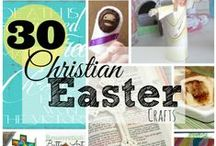 Christian Easter / Awesome Christian Easter activities, crafts, books, and so many more resources for celebrating and teaching about the resurrection of Jesus in Easter.