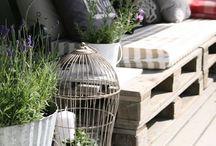 Kierrätyspuutarha - Recycling Ideas for garden