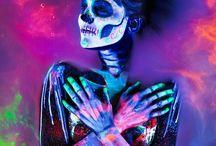 Halloween . Maquillaje