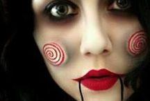 Halloween make up art / mroczne stylizacje twarzy i ciała