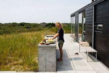 Kesäkeittiöt - Outdoor kitchen area