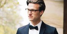 The Groom / Inspiration and ideas for groom style and wardrobe. #groom #groomstyle #weddingstyle
