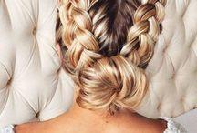 Hair / Different hair styles and cuts. #hair #style #lookbook #updo's #shorthair #longhair #ponytails #messybun