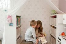 ~ Book Corner ~ / Create a reading solace for your child!