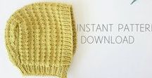 Simple Baby Knitting / Inspiration and patterns for simple baby knits