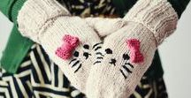Speciality Stitches for Arm Knitting / All types of stitches can be done successfully arm knitting, here you'll find basic duplicate and decorative stitch patterns and inspiration.