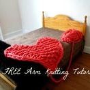 Arm Knitting Ideas / Arm knitting tutorials, ideas and more.