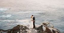 Big Sur / Elopement and wedding inspiration and ideas for Big Sur, California and surrounding areas. #bigsur #bigsurwedding #bigsurelopement