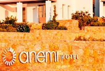 Discover Anemi / Anemi Hotel stretches in an area of 16.000 sq. m. and harmonically blends in the natural landscape, thanks to its architecture, color shades and beautiful gardens. The complex consists of twelve 2-storey buildings that enjoy a breathtaking view of Karavostasi and the Aegean's infinity blue. http://goo.gl/ZR0mJF