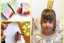 Детские праздники / Идеи для дней рождения и детских праздников