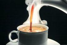 Coffee- and teatime..... Kaffe- og tetid....... / Meget om kaffe og te......