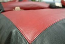 Leather Bedding / We make bedding in the finest Italian Leather . Hand crafted and custom made for the very finest leather sheets, duvet covers, throws and pillowcases