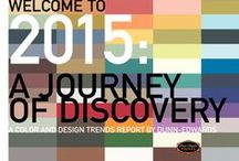 Color Trends 2015 / A color and design trends report by Dunn-Edwards Paints. / by Dunn-Edwards Paints