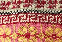 Fair isle... Nordic knitting... / Fair isle strik