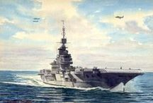 Royal Navy Warships / Paintings