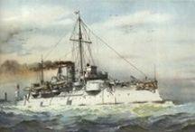 Kaiserliche Marine / Deutschen Schlachtschiffe und kreuzer