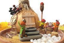 Осенние игры и поделки / Игры, поделки, занятия для детей на осеннюю тему