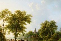 Barend Cornelis Koekkoek - Art / Barend Cornelis Koekkoek (Middelburg, 11 oktober 1803 - Kleef, 5 april 1862) was een Nederlands romantisch landschapsschilder.