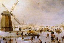 Hendrick Avercamp - Wintertaferelen / Schilderijen van Winterlandschappen