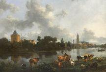 Nicolaes Berchem - Art / Nicolaes Pietersz. Berchem (Haarlem, 1 oktober 1620 - Amsterdam, 18 februari 1683) was een Nederlands kunstschilder van mediterrane, pastorale landschappen.
