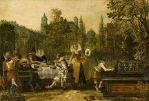 Esaias van de Velde - Art / Esaias van de Velde (gedoopt Amsterdam, 17 mei 1587 – begraven Den Haag, 18 november 1630) was een Nederlands schilder, graveur en tekenaar behorend tot de Hollandse School.