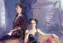 Pino Daeni - Art / Pino Daeni (November 8, 1939 – May 25, 2010) was an Italian-American book illustrator and artist. He is known for his style of feminine, romantic women and strong men painted with loose but accurate brushwork. Considered one of the highest paid book illustrators of his time, he created over 3,000 book covers, movie posters and magazine illustrations.