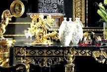 Interiors deluxe / Interiors - decor - furniture - upholstery - wallpapers - kitchen - Lighting