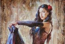 Andrew Atroshenko - Art / Born in 1965 in the City of Pokrovsk, Russia, Andrew became part of a gifted child program at the Children's Art School there, and was later accepted at the St. Petersburg Academy of Art.  In 1999 Andrew spent the entire year in the US. After seeing Royo and Pino at Art Expo 2000 in New York, he chose the direction his art would take. Since then, Andrew has worked with dealers from Western Europe and the US.