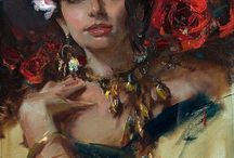 Daniel F. Gerhartz - Art / Daniel F. Gerhartz was born in 1965 in Kewaskum, Wisconsin where he now lives with his wife Jennifer and their three young children. His interest in art piqued at an early age when a teenage friend suggested they spend one dreary afternoon drawing. It was at that moment that he discovered his lifework.  The artist's skillful and technically adept work celebrates the created world, human form, personal relationships and connection with landscapes and environments of special importance.