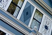 Exterior Color Palettes / Ideas for repainting our Victorian
