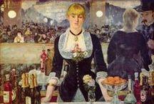 Édouard Manet - Art / Édouard Manet (né à Paris le 23 janvier 1832 - mort à Paris le 30 avril 1883) est un peintre français majeur de la fin du xixe siècle. Initiateur de la peinture moderne qu'il libère de l'académisme, Édouard Manet est à tort considéré comme l'un des pères de l'Impressionnisme.