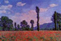 Claude Monet - Art / Claude Monet, né le 14 novembre 1840 à Paris et mort le 5 décembre 1926 (à 86 ans) à Giverny), est un peintre français, l'un des fondateurs de l'impressionnisme, peintre de paysages et de portraits.
