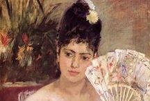 Berthe Morisot - Art / Berthe Marie Pauline Morisot (née le 14 janvier 1841 à Bourges - morte le 2 mars 1895 à Paris) est une artiste-peintre française, membre fondateur et doyenne du mouvement d'avant-garde que fut l'Impressionnisme.